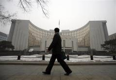 中国央行称将通过控制信贷防止经济过热
