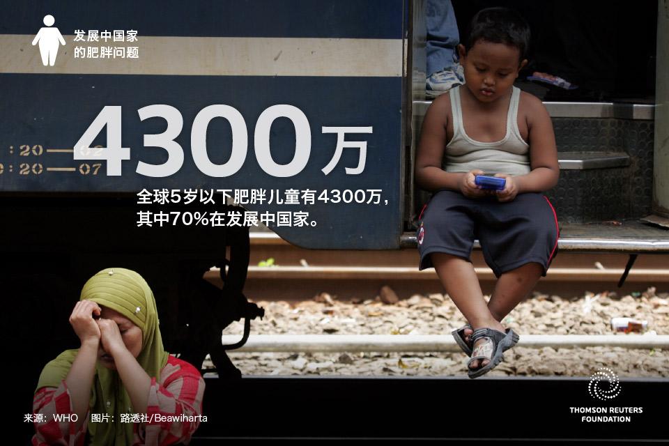 发展中国家的肥胖小case