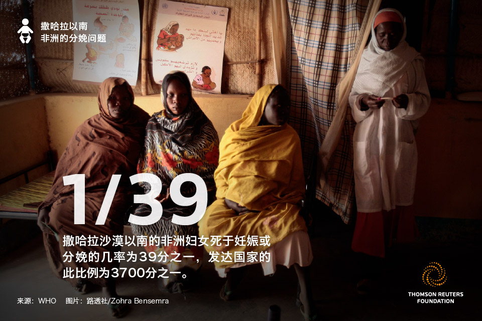 撒哈拉以南非洲的分娩小case