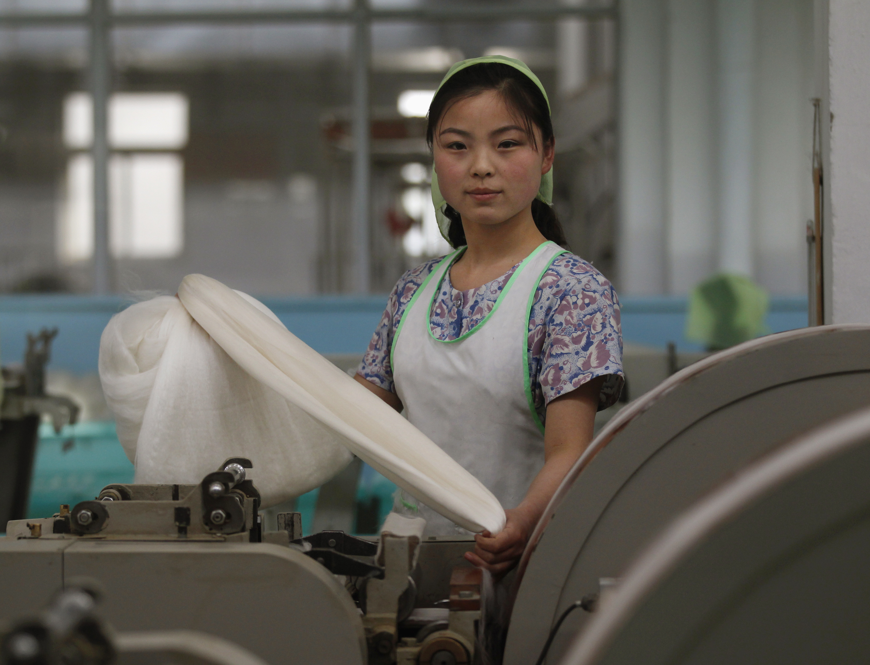 SLIDESHOW: North Korea's women workers