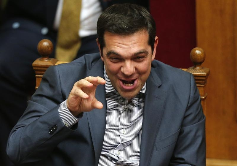 SLIDESHOW: All eyes on Tsipras