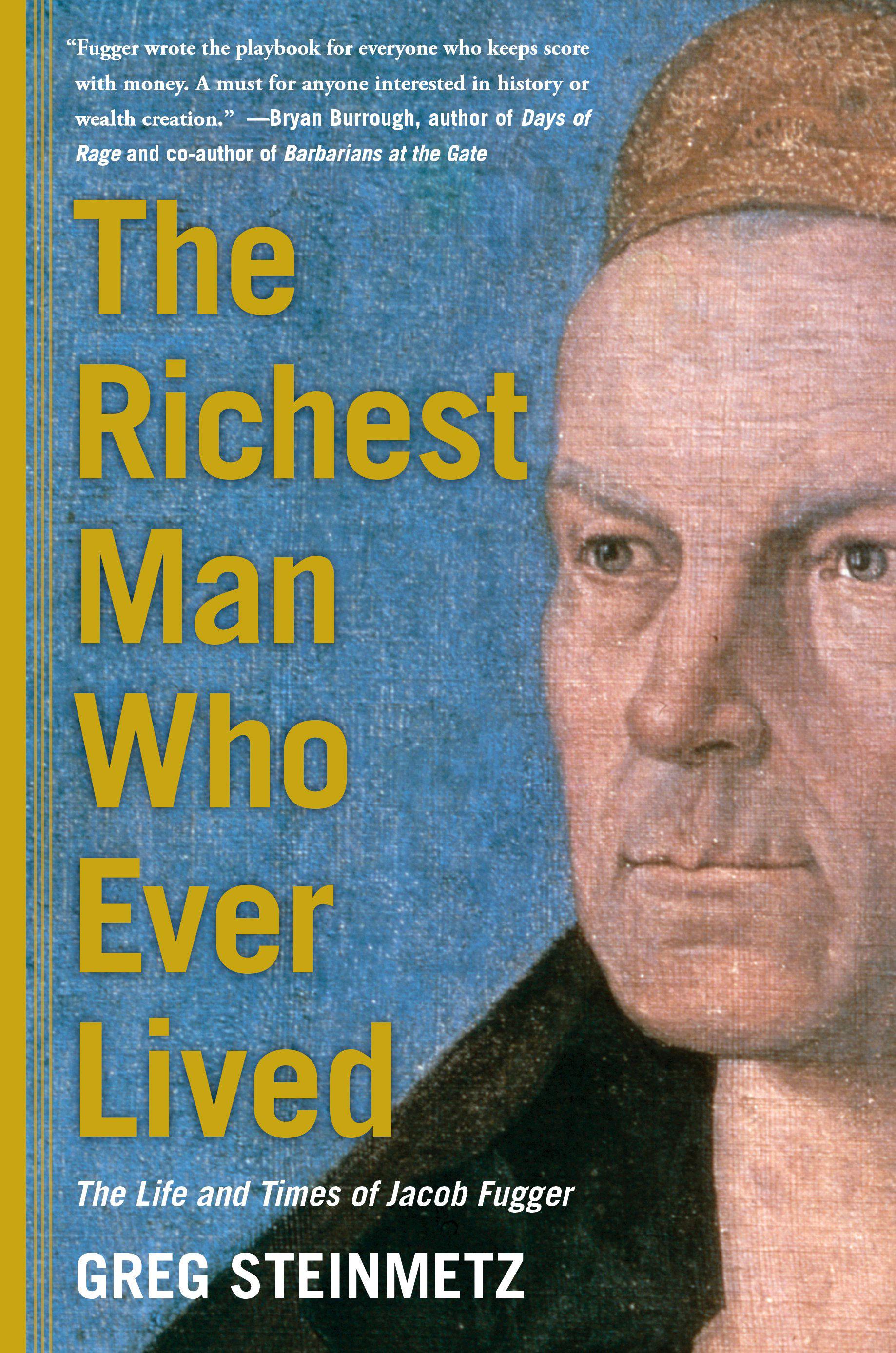 """หน้าปกของหนังสือเกร็กสไตน์เมตซ์ """"คนที่ร่ำรวยที่สุดที่เคยมีชีวิตอยู่"""" ถูกมองว่าเป็นผู้จัดพิมพ์โดย Simon & Schuster REUTERS / Simon & Schuster / เอกสารแจกผ่าน Reuters"""