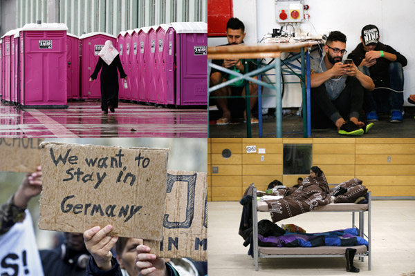 Slideshow: Germany, home to refugees