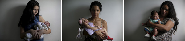 GALLERY: ZIKA: MOTHER AND CHILD