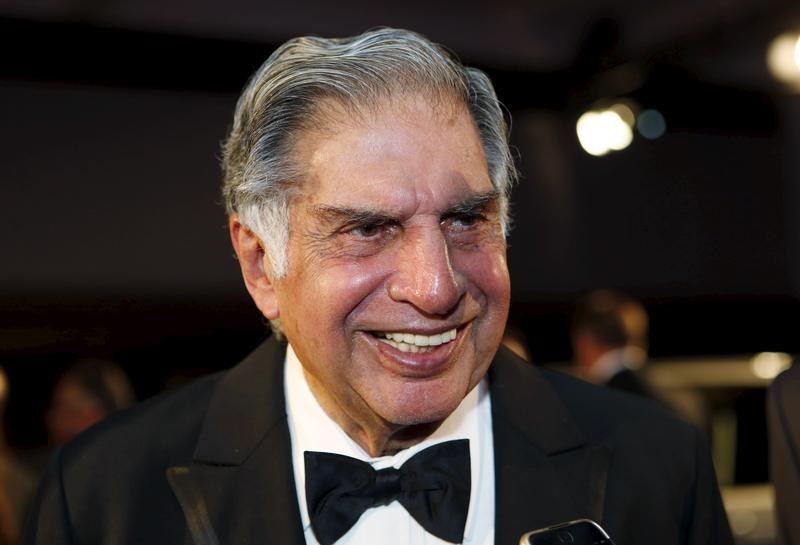 Ratan Tata, chairman emeritus of Tata Sons, attends an event where he was inducted into the 2015 Automotive Hall of Fame in Detroit, Michigan July 23, 2015. REUTERS/Rebecca Cook/Files