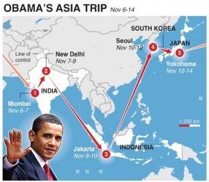 Obama's Asia trip