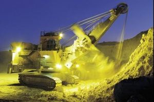 Handout image of an excavator working at a Rio Tinto coal mine in the Hunter valley. REUTERS/Rio Tinto/Handout