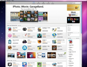 a screenshot of Apple's Appstore. REUTERS/ Apple Inc