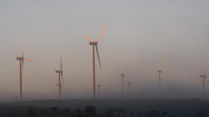 Wind turbines operate at the newly-built Capital Wind Farm near Tarago, about 35 kilometres (22 miles) north of Canberra October 30, 2009. REUTERS/Tim Wimborne