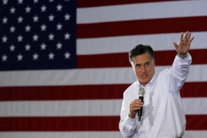 Republican presidential candidate and former Massachusetts Governor Mitt Romney speaks at a campaign rally in Dubuque, Iowa January 2, 2012, ahead of the Iowa Caucus on January 3, 2012.   REUTERS/Brian Snyder