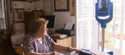 Robot caregiver offers company, security to 94-year-old grandmother