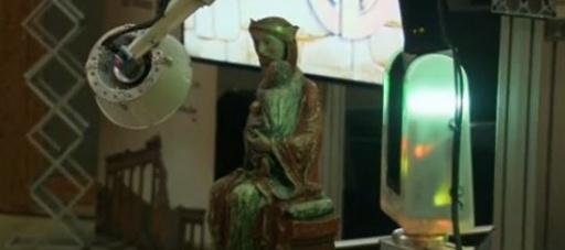 New 3-D scanner improves the chances to preserve works of art