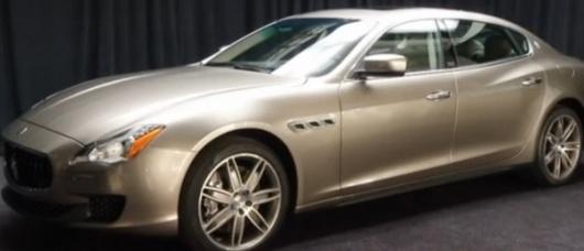 Maserati, Zegna make $175,000 sedan
