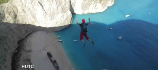 Extreme BASE jumpers who parachute off cliffs