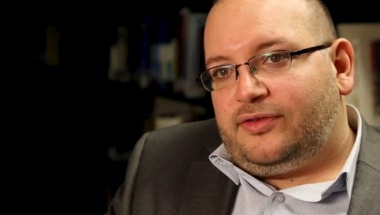 Jason Rezaian, the Washington Post's Tehran correspondent, is pictured at The Washington Post in Washington, DC in this November 6, 2013 handout photo. REUTERS/Zoeann Murphy/The Washington Post/Handout via Reuters