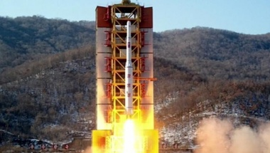 A North Korean long-range rocket is launched in this still image taken from KRT video footage, released by Yonhap on February 7, 2016. REUTERS/Yonhap