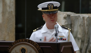 US navy officer charged with spying