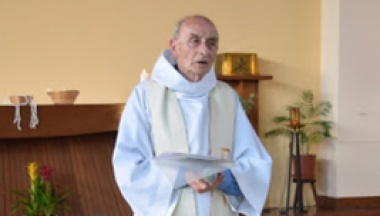An undated photo shows French priest, Father Jacques Hamel of the parish of Saint-Etienne.