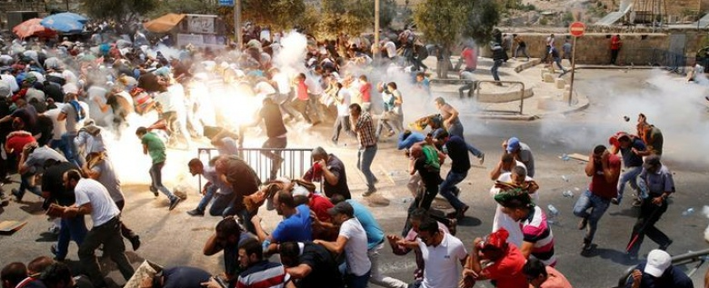 Scenes from Jerusalem's 'Day of Rage'