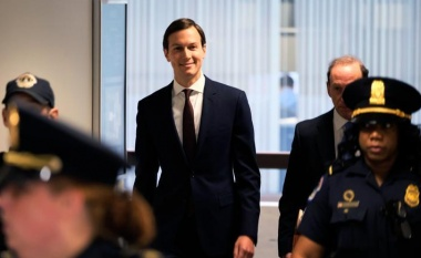 """I did not collude"": Trump son-in-law Kushner on Russia"