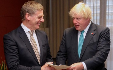 Johnson says New Zealand near top of trade deal queue