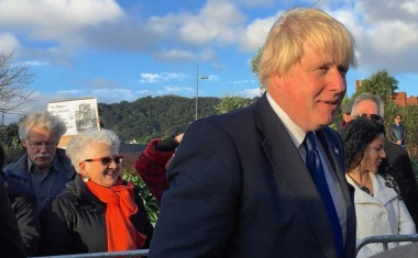 Johnson plays down Conservative rift, NZ near top of trade deal queue