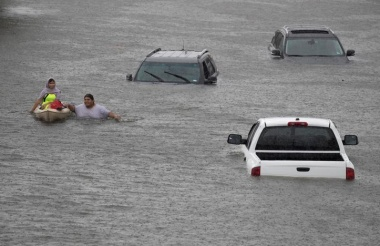 Houston reels from floods