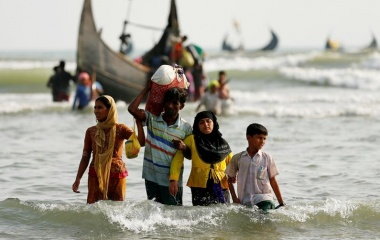 Witnessing a perilous journey from Myanmar to Bangladesh