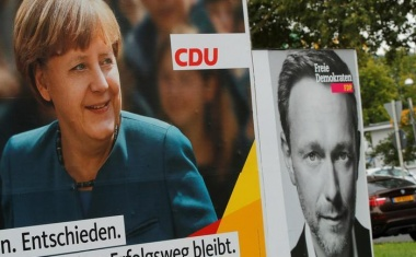 For Germany's Merkel, it could take three to tango