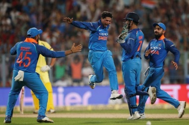 Kuldeep Yadav hat-trick sets up India's win against Australia
