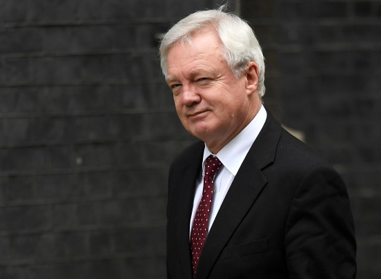 All ears - Brussels awaits detail from Davis on May's Brexit plan