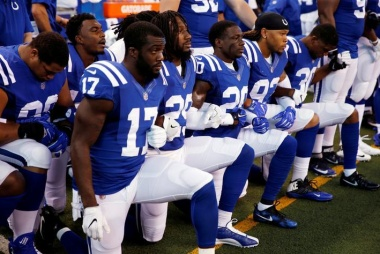 Most Americans split with Trump on firing protesting athletes: poll