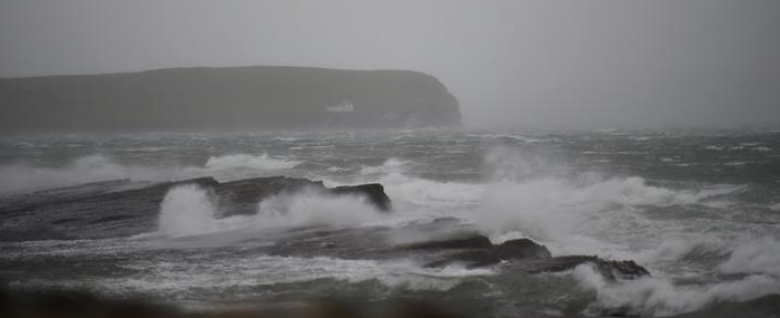 Two dead as Storm Ophelia batters Ireland