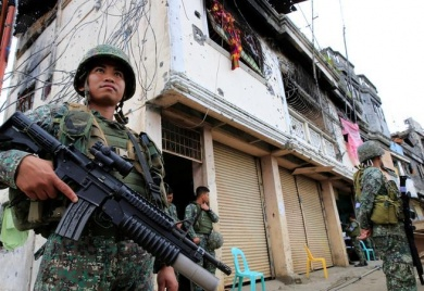Philippine president declares Marawi liberated