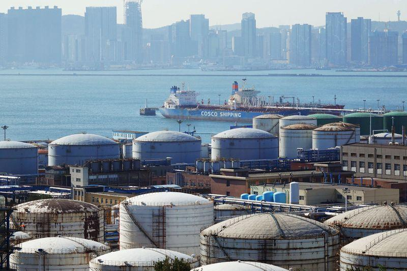 China makes rare, but small, draw on crude oil inventories thumbnail