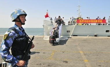China's growing military presence in Africa