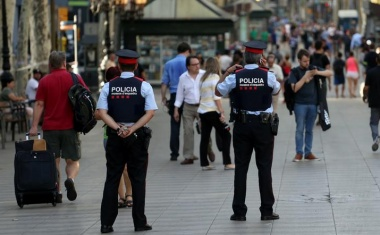 Barcelona van attacker among five killed by police - media