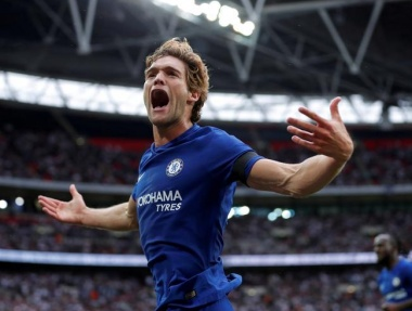 Alonso double for Chelsea spoils Spurs' Wembley opener