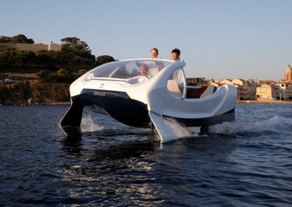 Flying water taxis highlight French startup frustrations