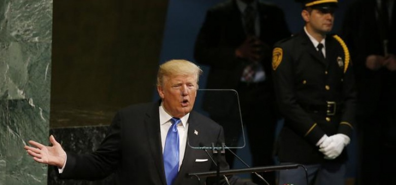 At U.N., Trump says U.S. may have to 'totally destroy' North Korea