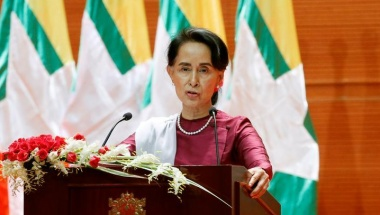 Suu Kyi condemns all rights violations in Rakhine State