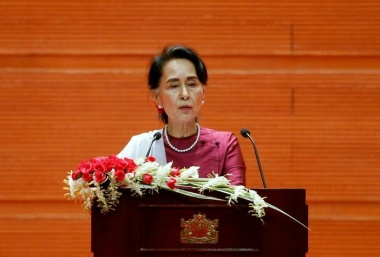Suu Kyi condemns abuses in Rakhine, rights groups sceptical