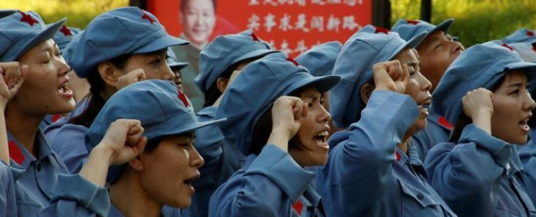 Reliving China's long march