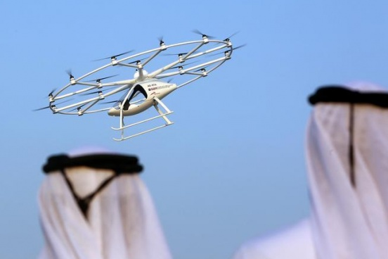 Dubai starts tests for world's first flying taxis