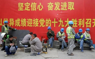 China's economy shows solid momentum as party meets