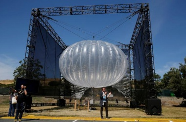 Alphabet balloon to float limited internet in Puerto Rico
