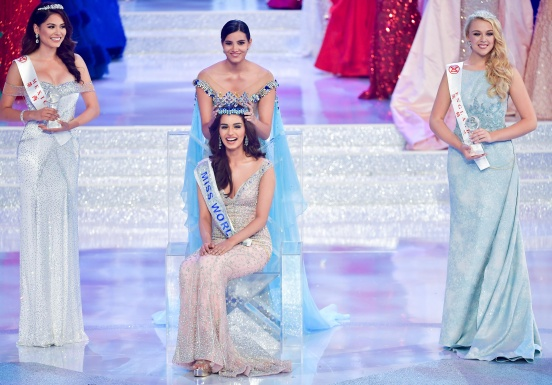 Manushi Chhillar: Miss World 2017