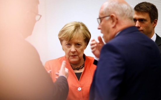 Merkel eyes new election as coalition talks fail