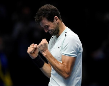 Dimitrov delivers but this time he's ready to stay