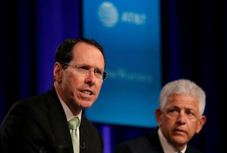U.S. sues to stop AT&T buying Time Warner